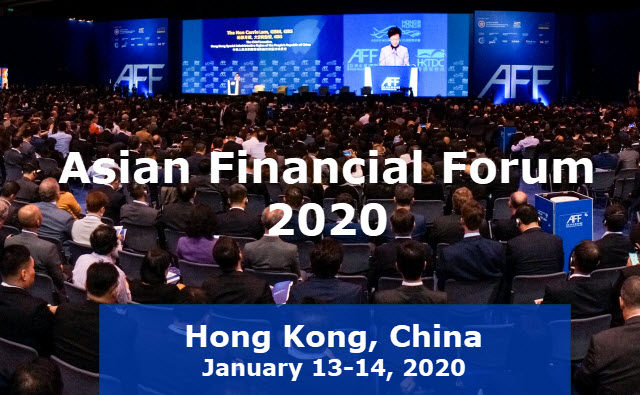 Image of asian financial forum in hong kong