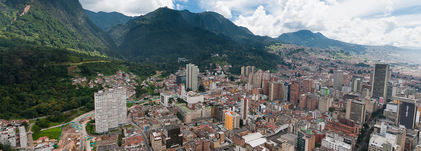 Colombia Skyline