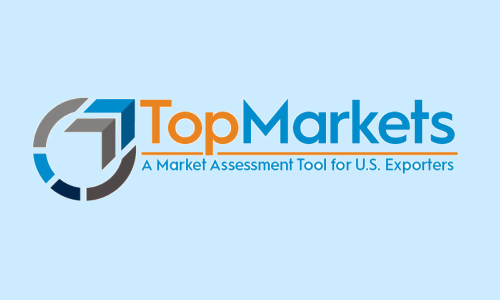 Logo for the top markets program