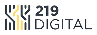 219 Digital Company Logo for the eCommerce BSP Backend Technology Section